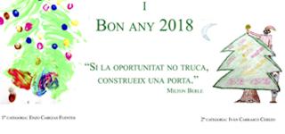 Bon Nadal i Bon Any 2018